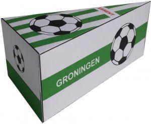 Groningen voetbalclub traktatie taartpunten
