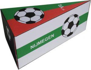 NEC Nijmegen traktatie taartpunt voetbal traktatie zelf maken