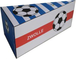 Pec Zwolle traktatie taartpunt voetbal traktatie zelf maken