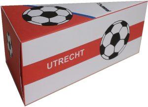 Utrecht traktatie taartpunt voetbal traktatie zelf maken