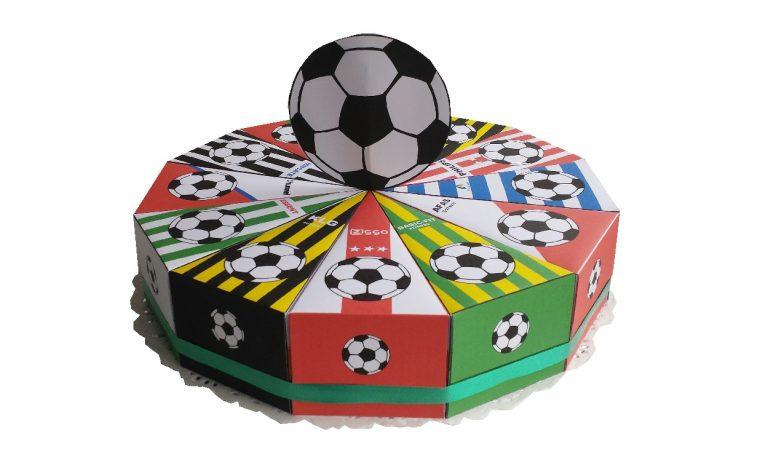 Traktatie taartpunten voetbal eredivisie