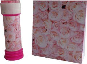 roosjes bellenblaas en geschenkverpakking roosjes