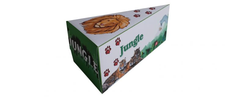 Taartpunt dieren jungle