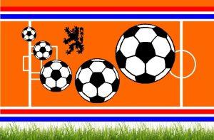 Voetbal Nederlands elftal etiket