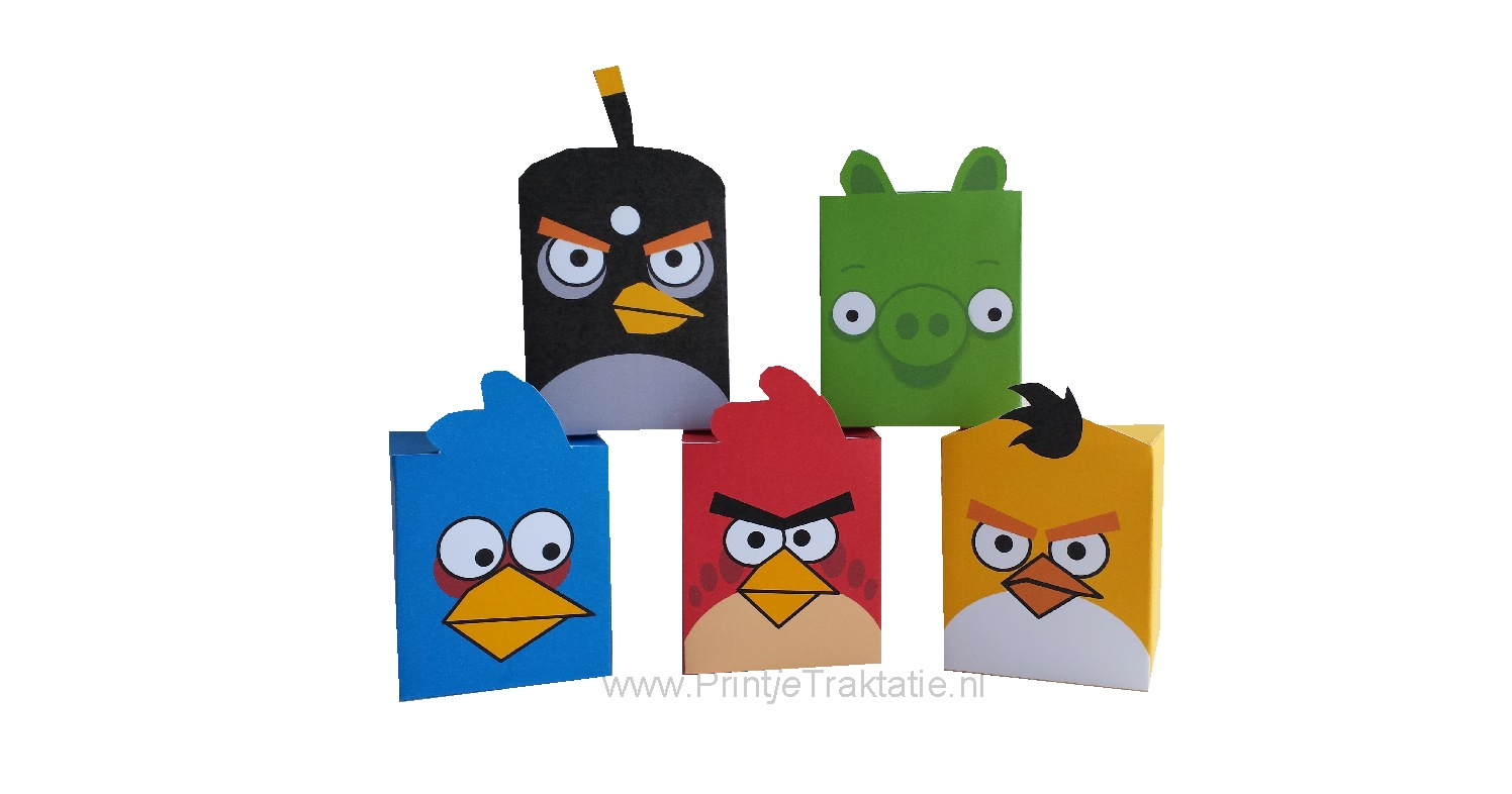 Angry birds doosjes
