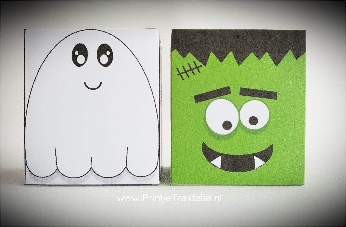Halloween Traktaties.Halloween Doosjes Print Je Traktatie