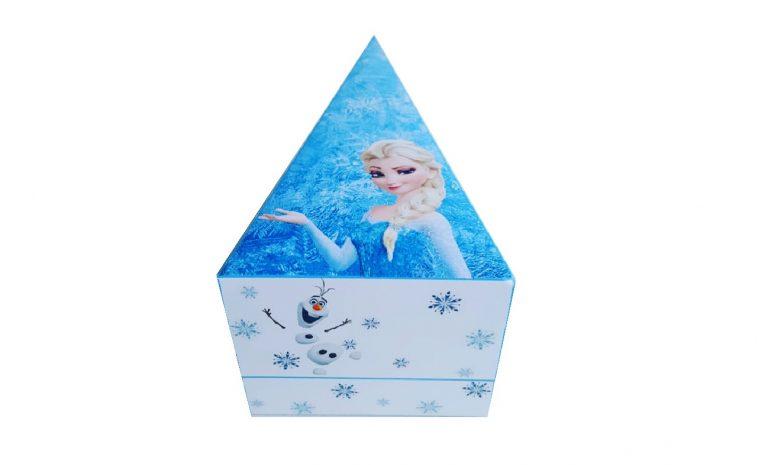 Frozen traktatie doosjes en prikkers