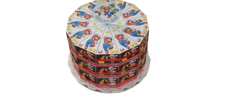 Super Mario taart