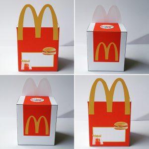 McDonalds traktatie doosje