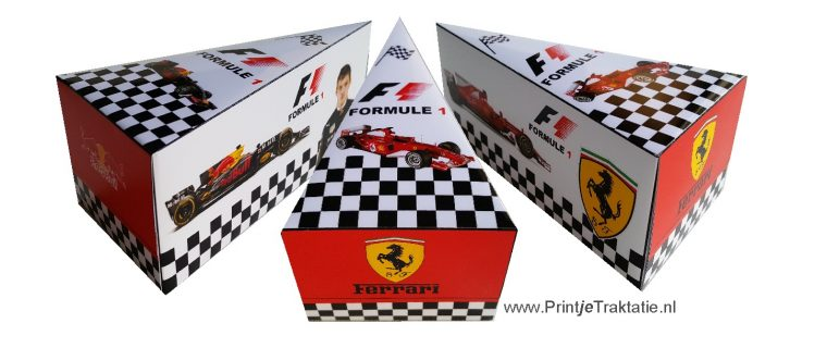 Formule 1 taartpunt