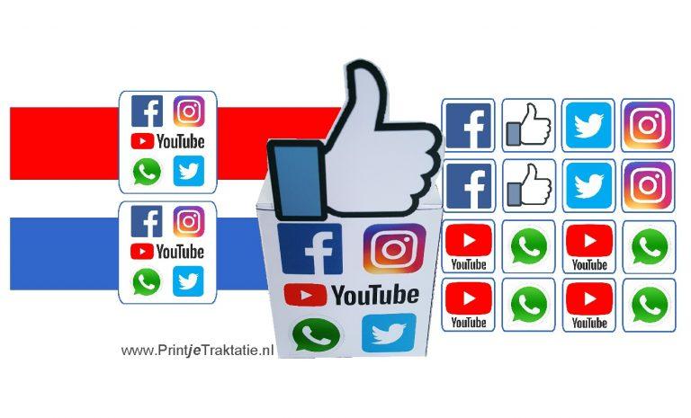 Social media traktatie