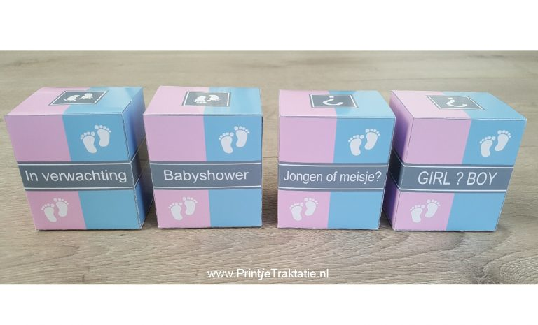 Zwangerschap doosjes