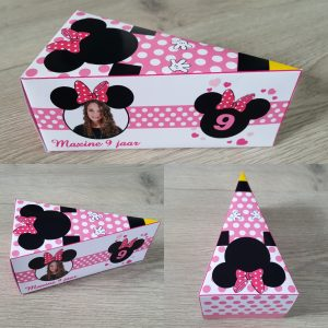 Minnie Mouse taartpunt
