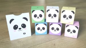 panda doosjes